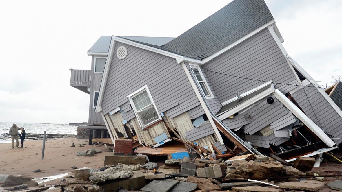 Následky bouře Sandy