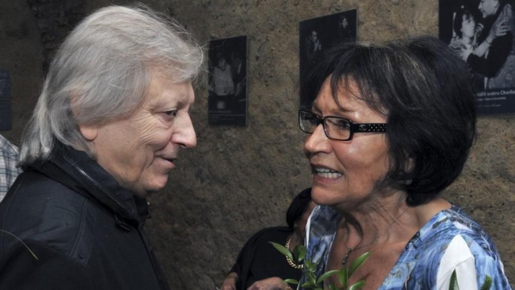 Václav Neckář a Marta Kubišová