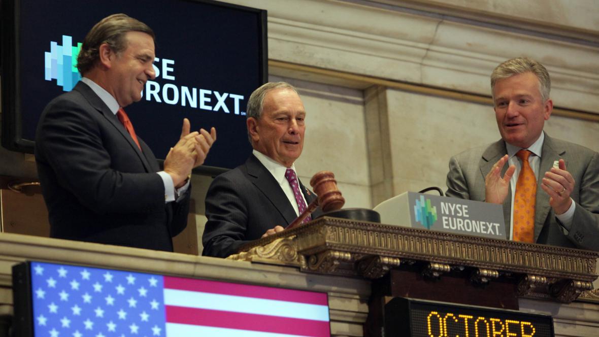 Bloomberg zahájil obchodování na newyorské burze
