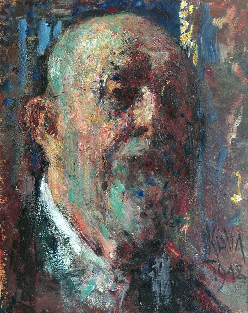 Ludvík Kuba - Autoportrét