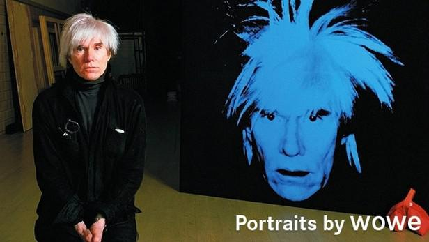 Andy Warhol na fotografii Wolfganga Wesenera