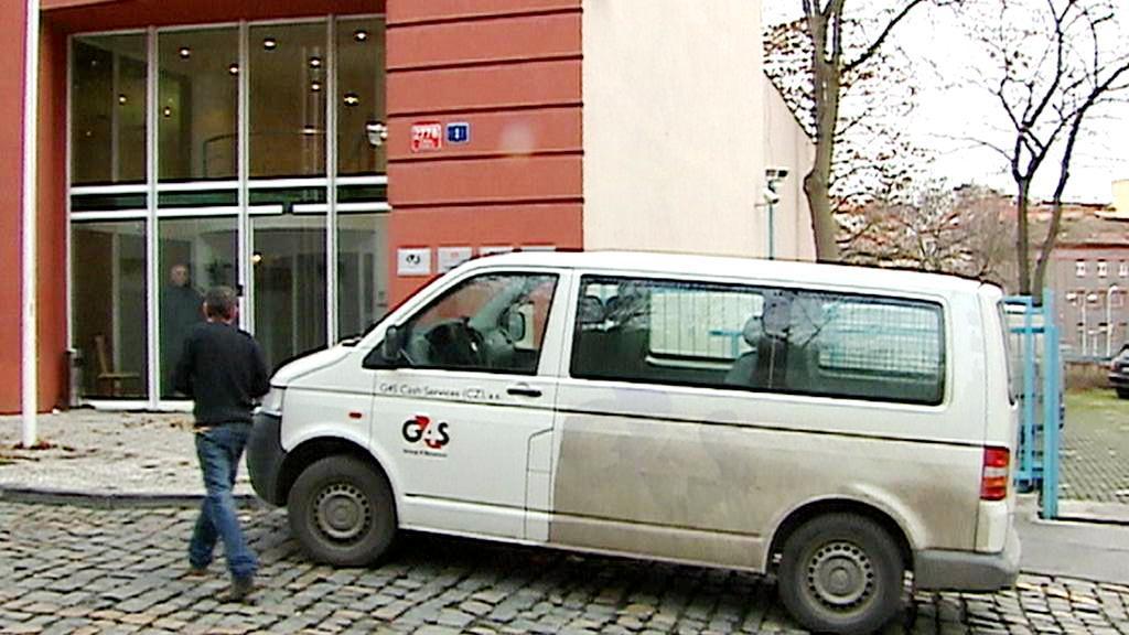 Vůz bezpečnostní agentury G4S