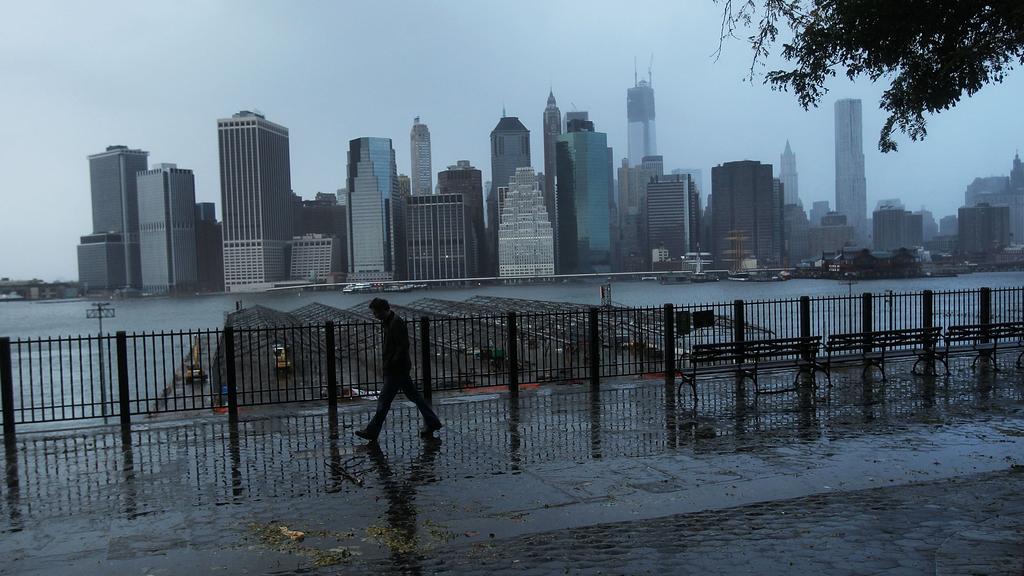 Manhattan bez proudu