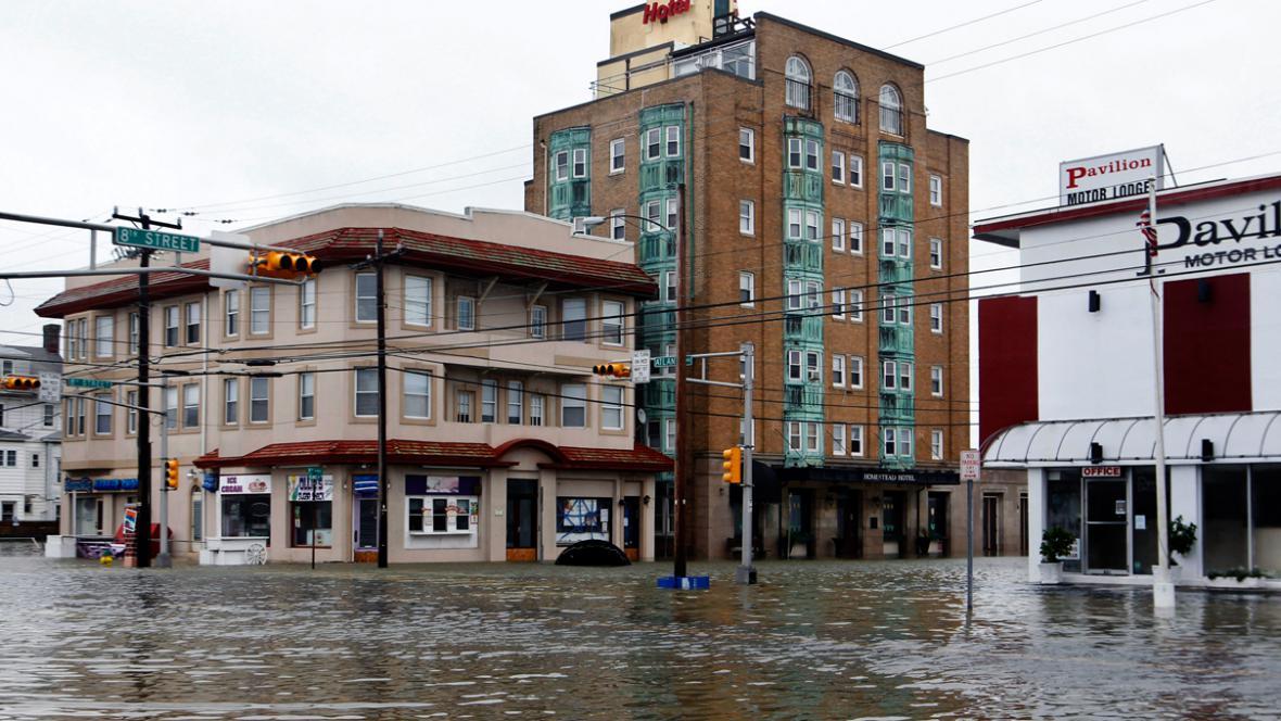 Zaplavené Ocean City