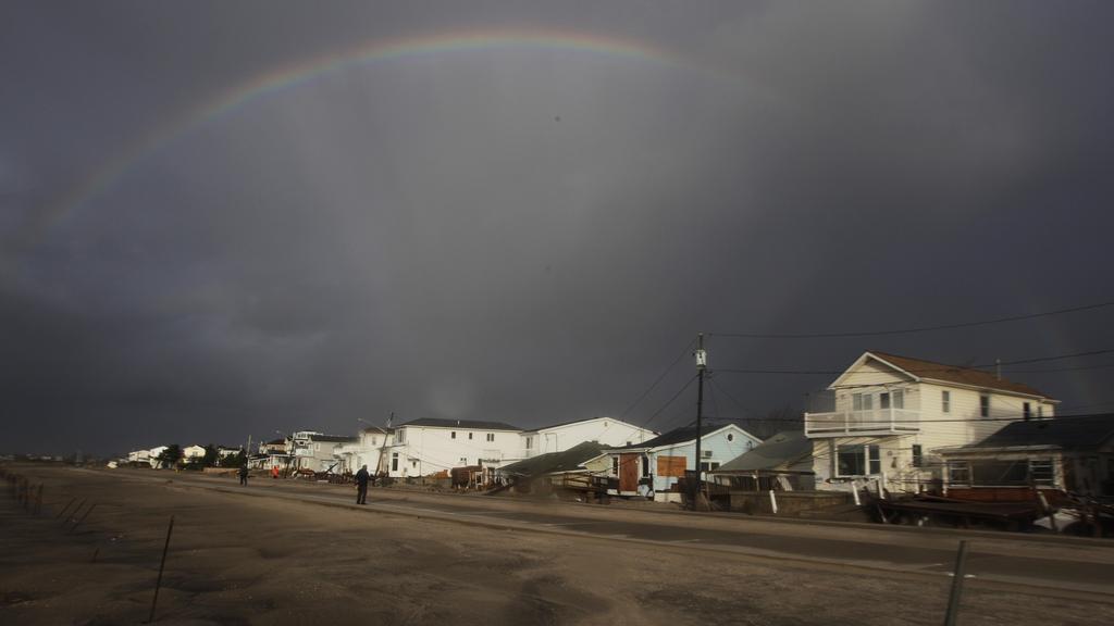 Amerika sčítá škody po Sandy