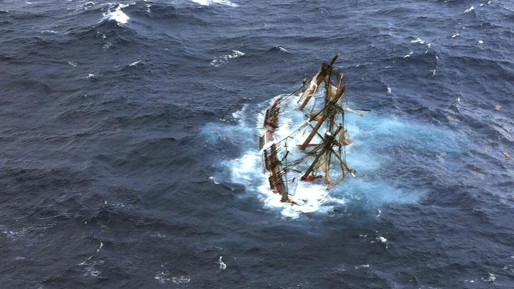 Potápějící se Bounty