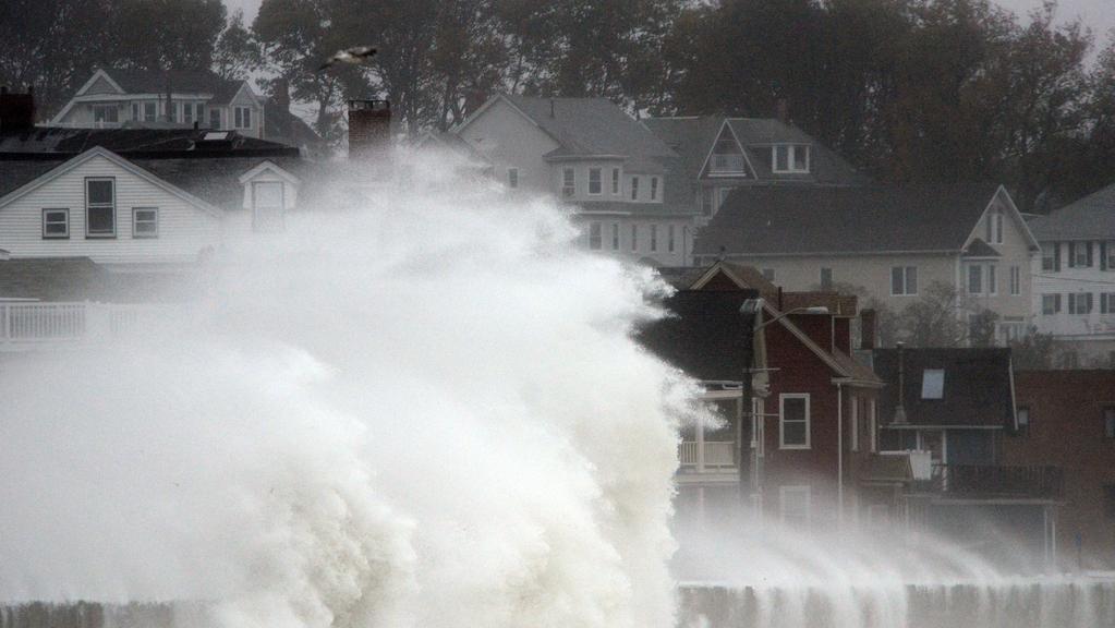 Úder hurikánu Sandy
