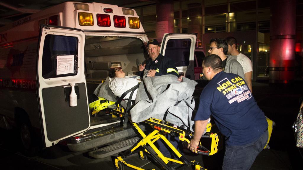Evakuace newyorské univerzitní nemocnice