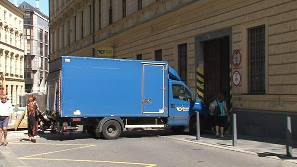 Důvodem stěhování je špatná dopravní dostupnost pošty
