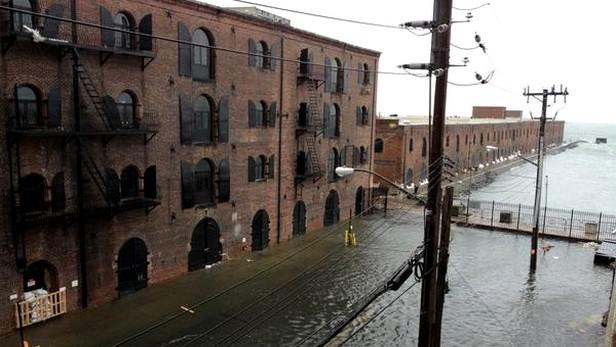 Brooklyn pod vodou
