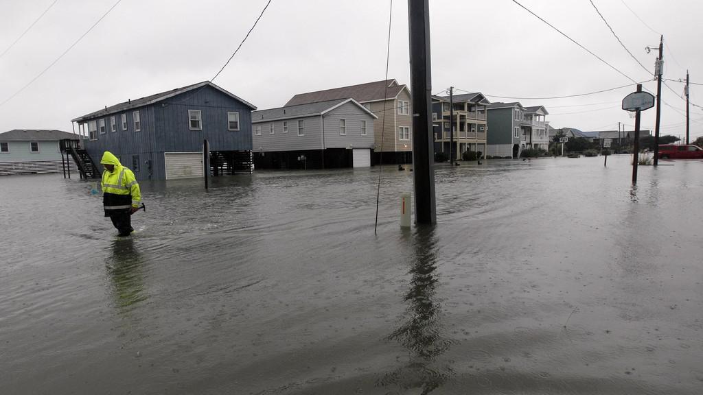 Záplavy způsobené hurikánem Sandy