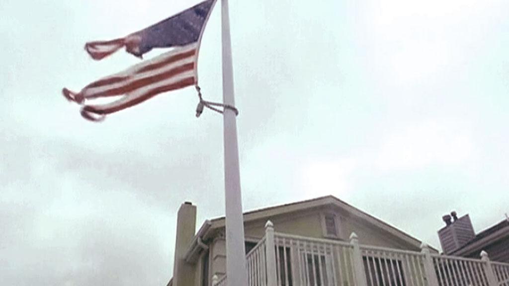 Hurikán Sandy dorazil do USA