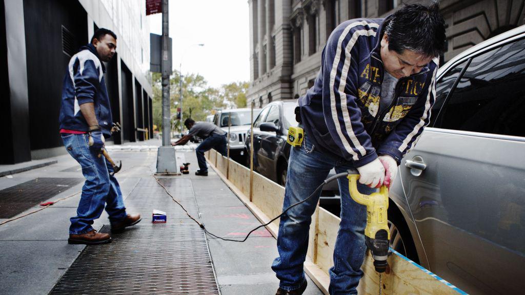 Přípravy na Sandy