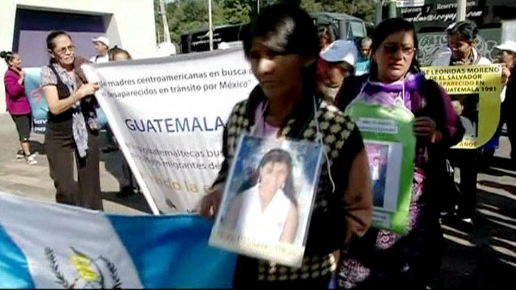 Protesty žen ze Střední Ameriky