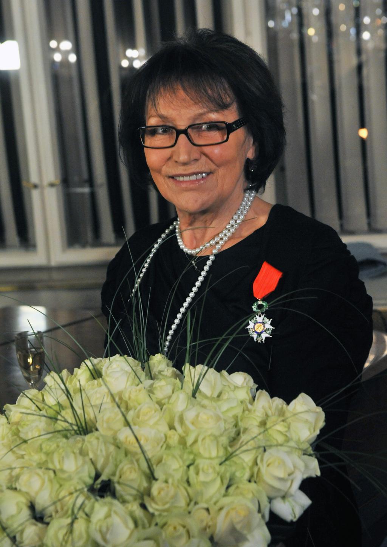 Marta Kubišová vyznamenána Řádem čestné legie