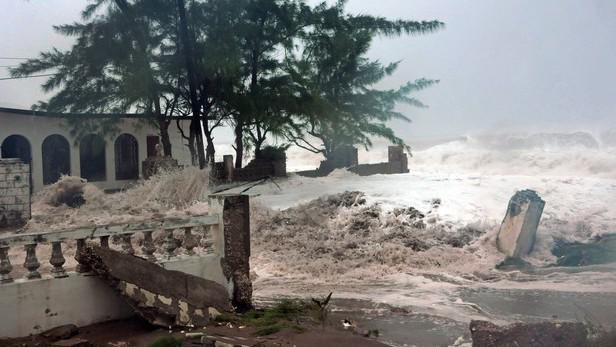 Hurikán Sandy na Jamajce