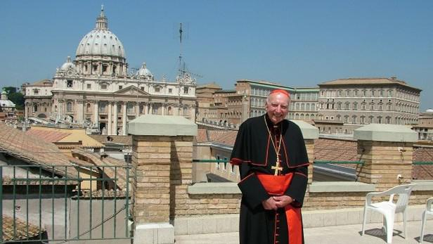 Kardinál Špidlík ve Vatikánu