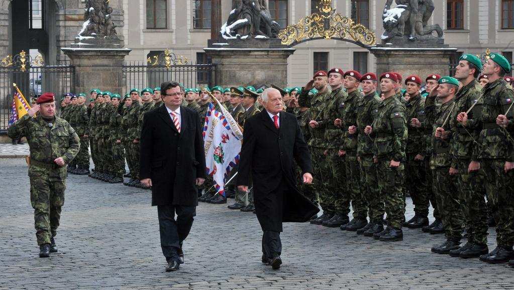 Slavnostní přísaha vojáků