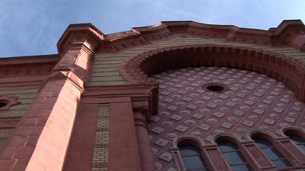 Židovská synagoga na Podkarpatské Rusi