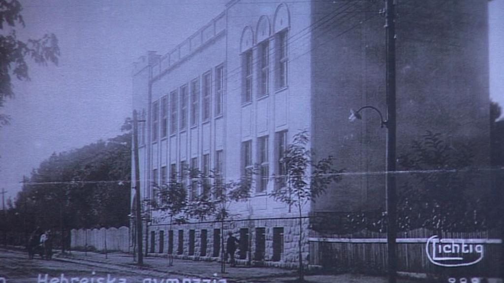 Židovská škola na Podkarpatské Rusi