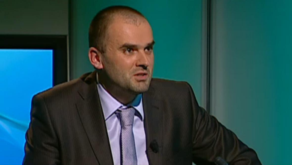 Ekonom Pavel Žamberský z Katedry světové ekonomiky VŠE