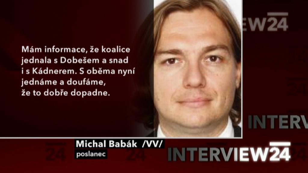 Výrok Michala Babáka
