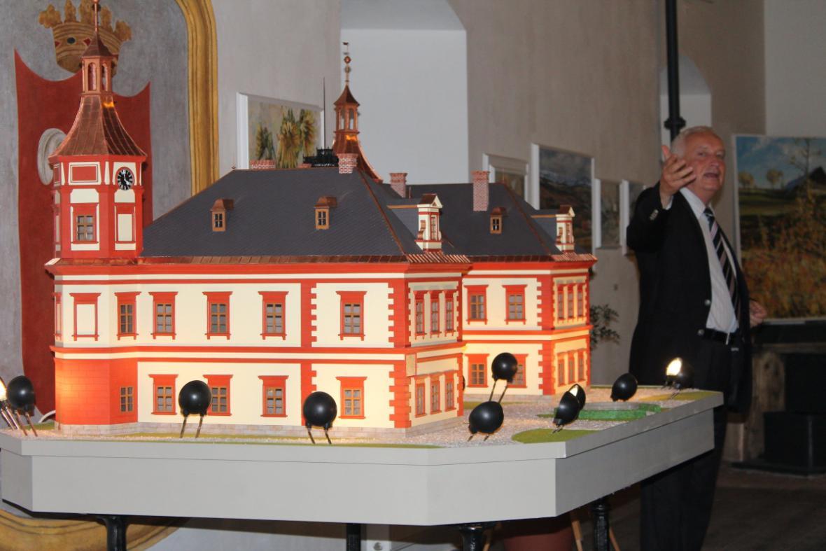 Miniatura jilemnického zámku