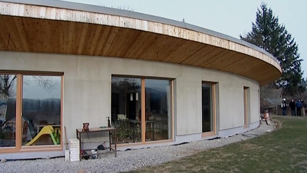 Novostavba pasivního domu rodiny Petry Hamoudy