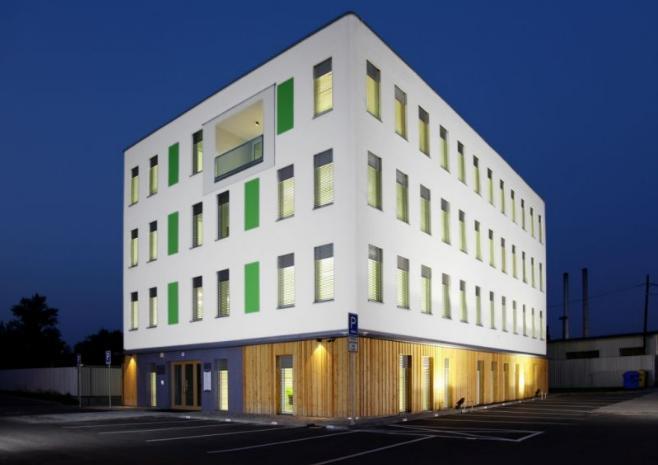 Pasivní administrativní budova v Ostravě