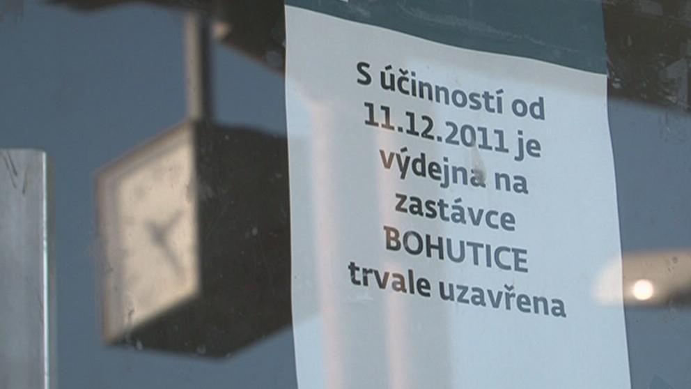 Českým drahám se provoz nádražní budovy nevyplácel