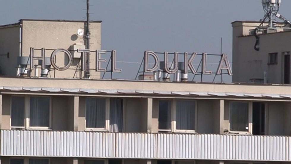 Hotel Dukla hyzdí centrum Blanska
