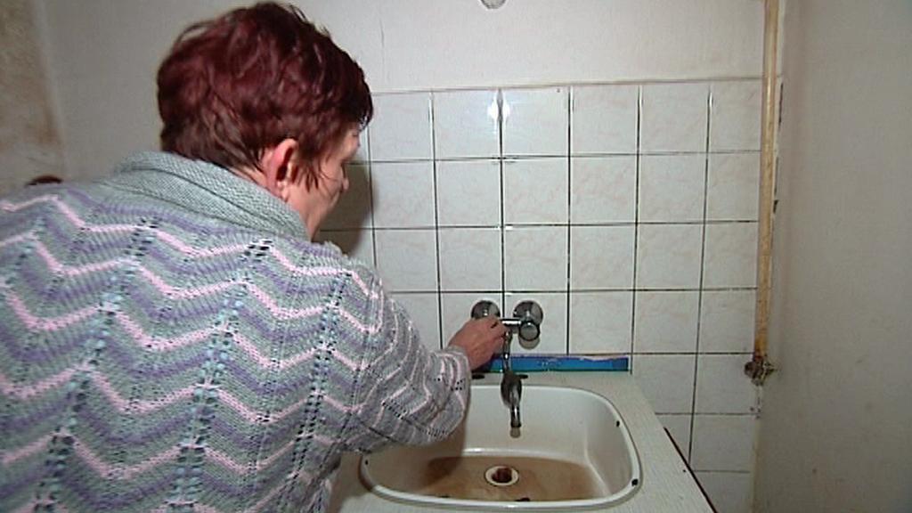 Voda neteče