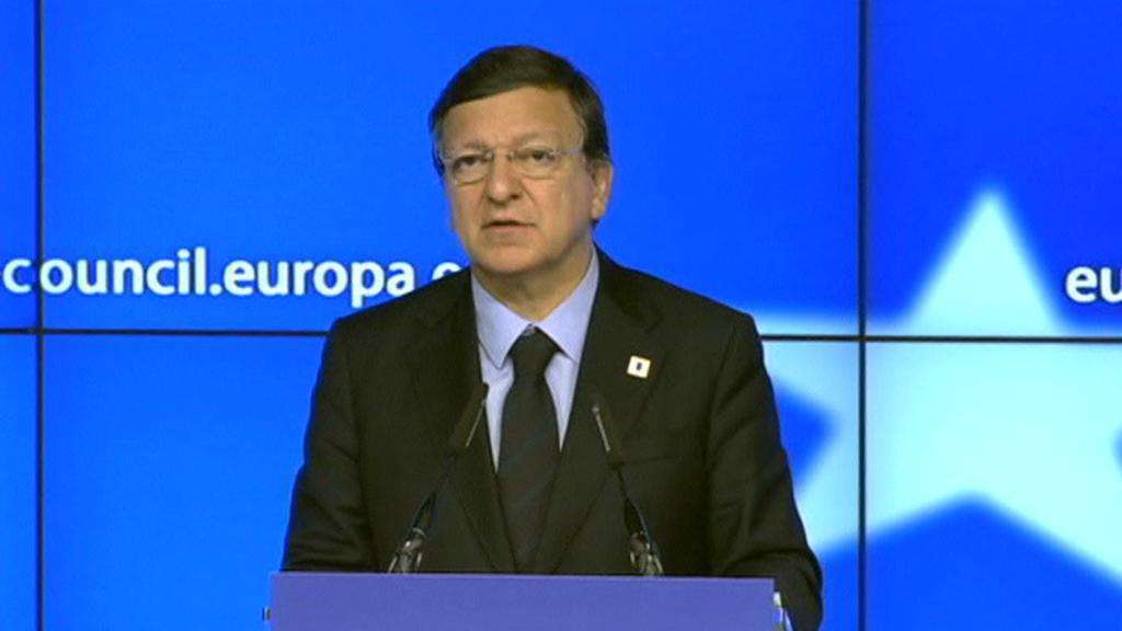 Předseda Evropské komise José Manuel Barroso