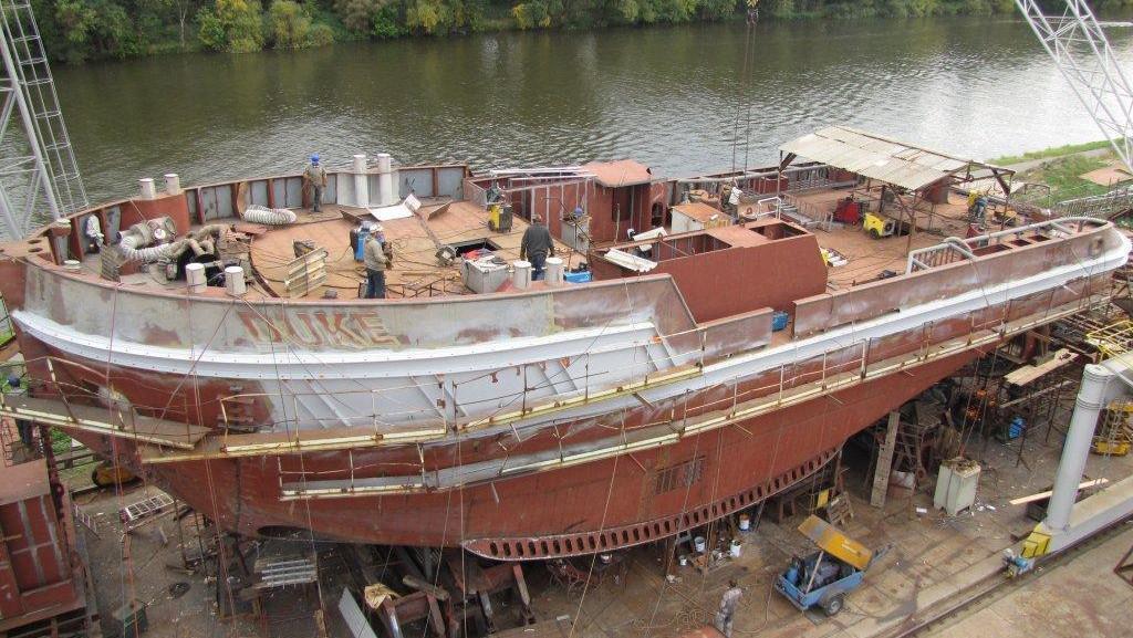 Stavba remorkéru