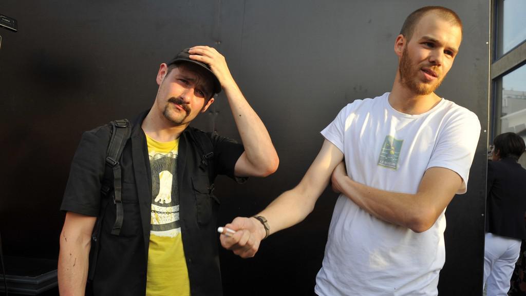 Jiří Franta (vlevo) a David Böhm