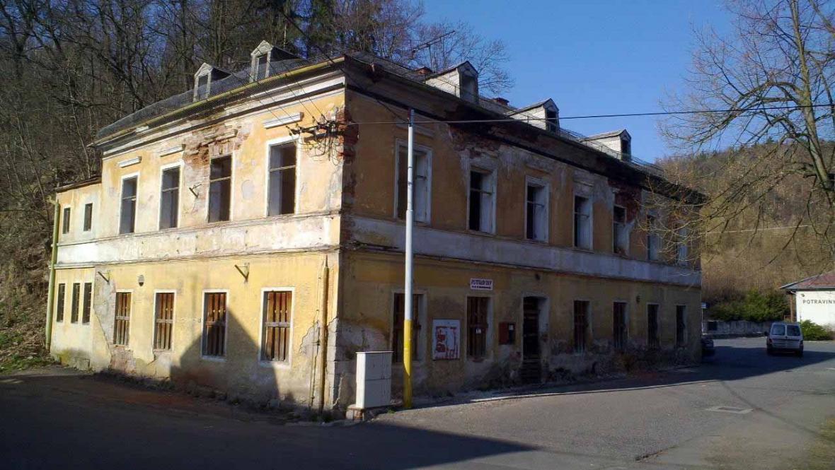 Bývalý hotel Praha