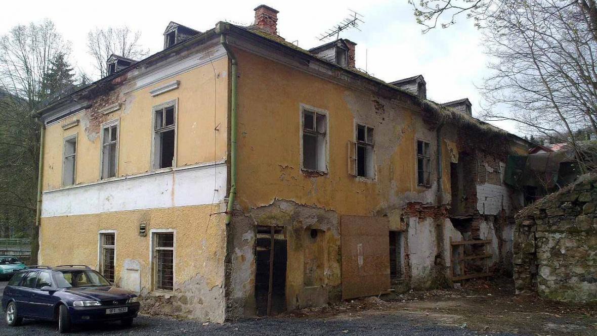 Bývalý hotel Praha (zadní trakt)
