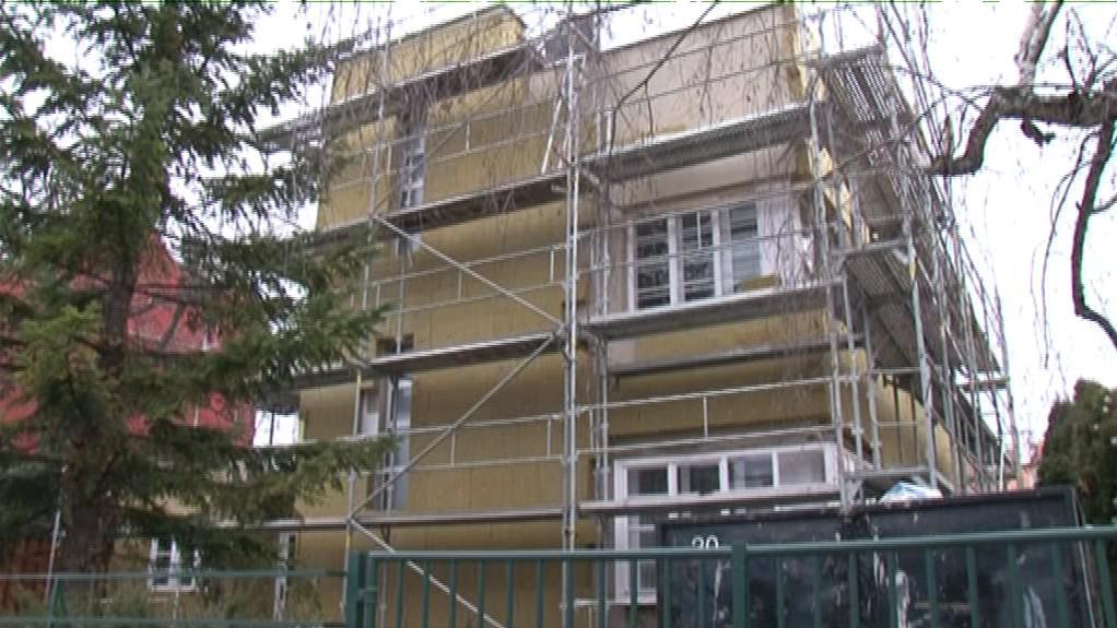 Takzvaný Haselmannův dům od Jindřicha Kumpošta