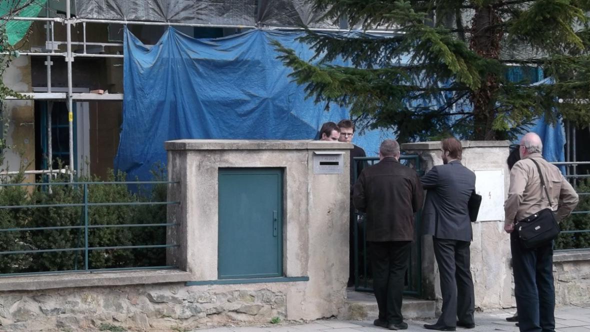 Památkáři vyrazili na na kontrolu Haselmannova domu