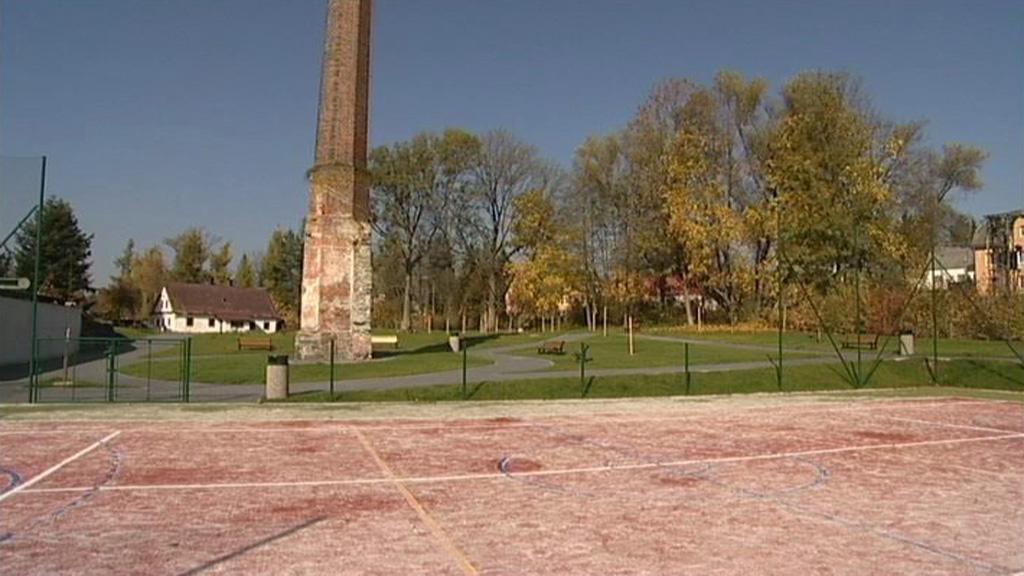 Víceúčelové hřiště a odpočinková zóna v Rýmařově