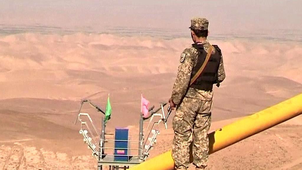 Těžba ropy v Afghánistánu