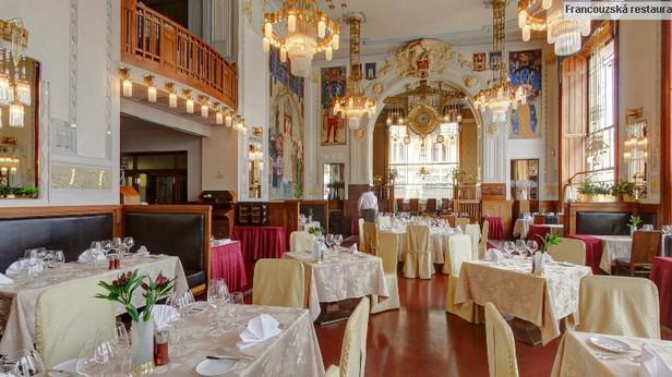 Obecní dům - interiér Francouzské restaurace