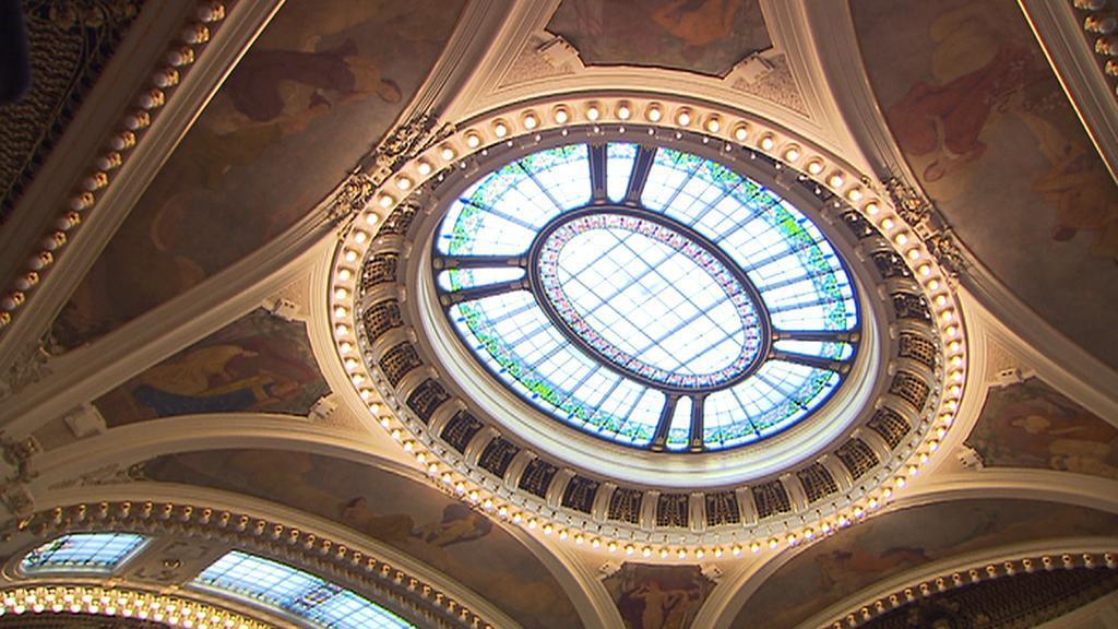 Obecní dům v Praze / strop ve Smetanově síni
