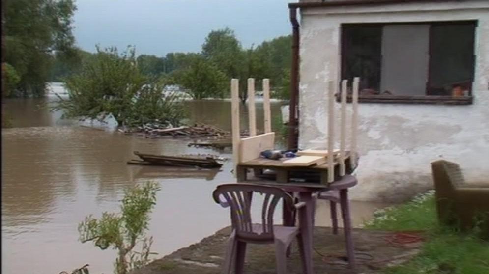 Záplavy v Rohatci