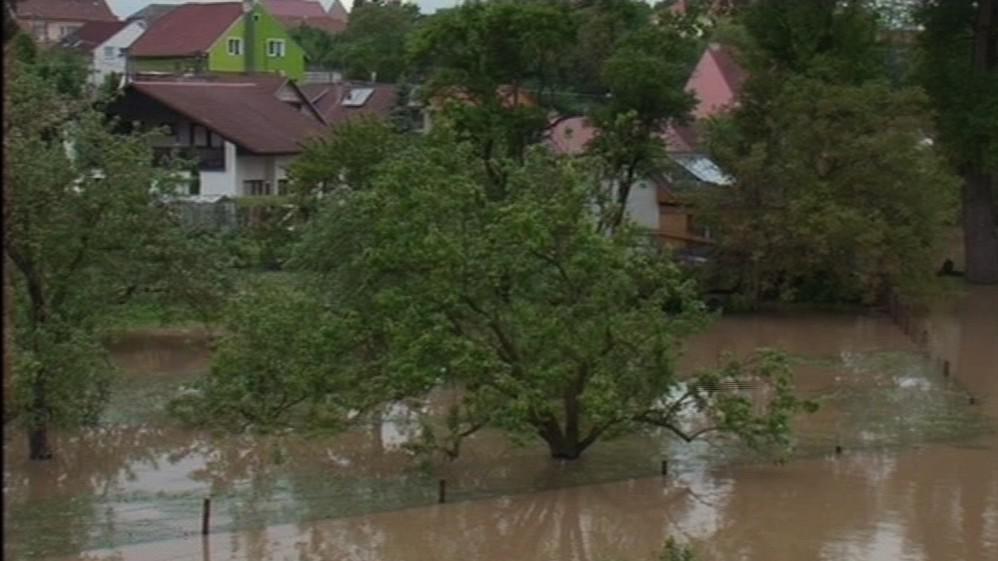 Povodně v Rohatci