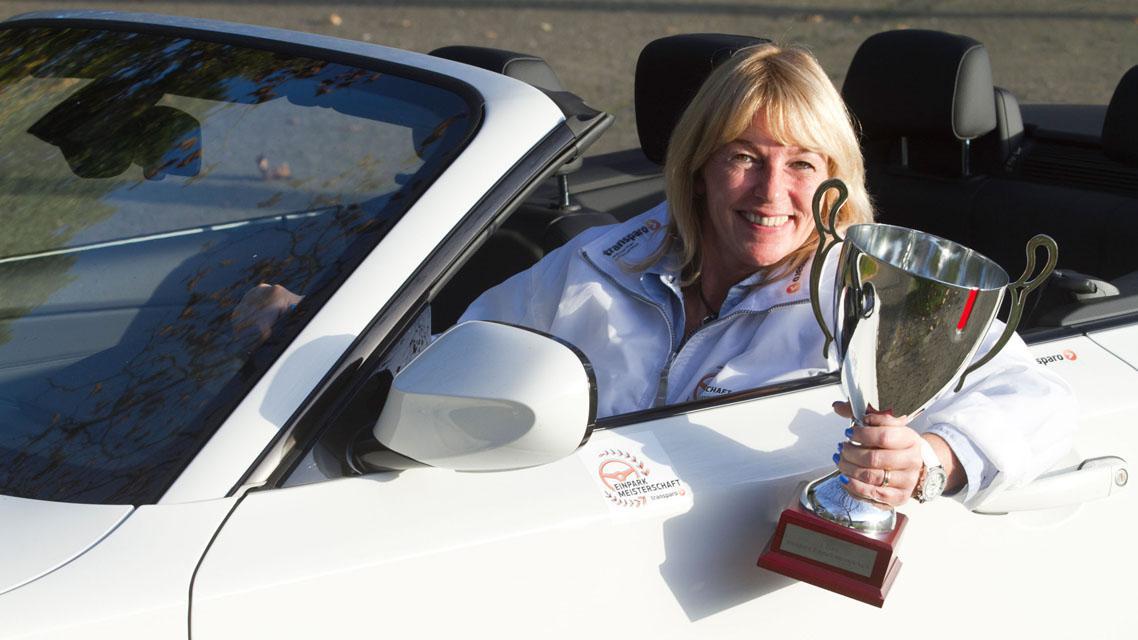 Sabine Langerová vyhrála mistrovství Německa v parkování