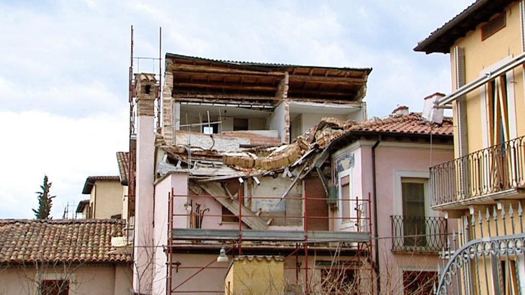 Aquila dva roky po zemětřesení