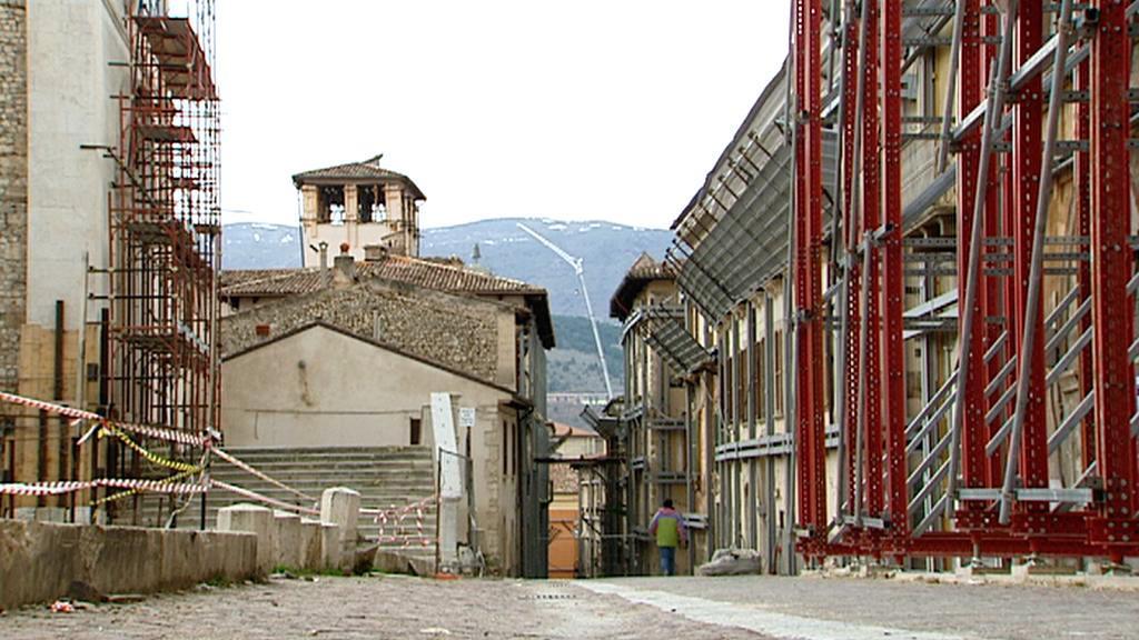 Rekonstrukční práce v italské Aquile