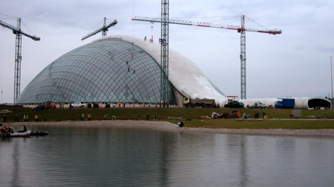 Budova nového gruzínského parlamentu