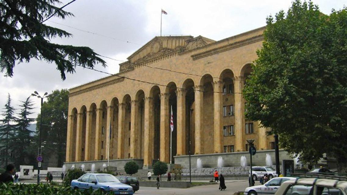 Stará budova gruzínského parlamentu